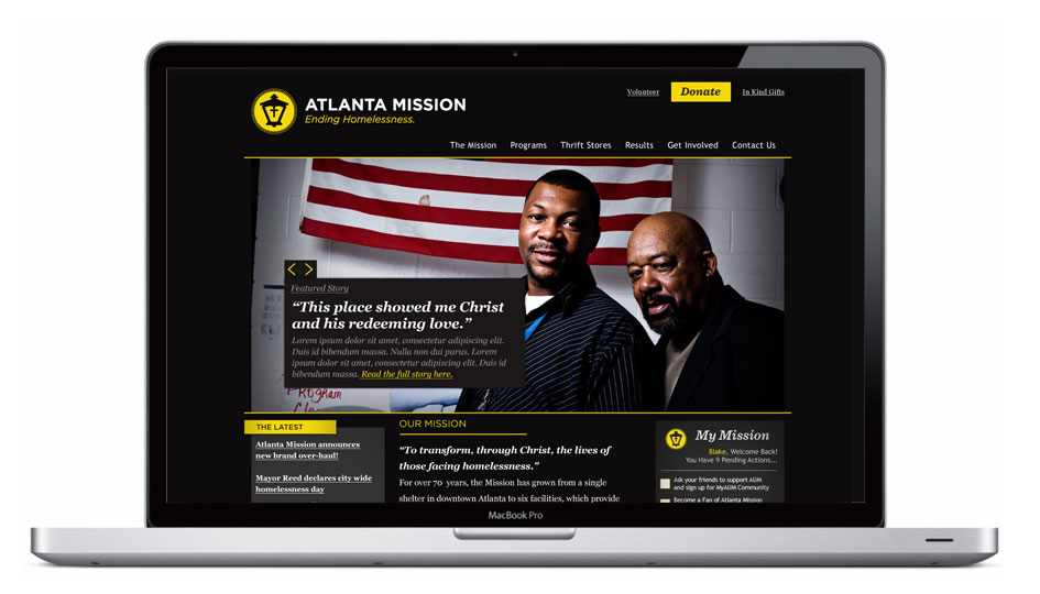 Atlanta Mission Website